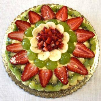 Torta con crema pasticcera e frutta Alimentari Pasqualetti