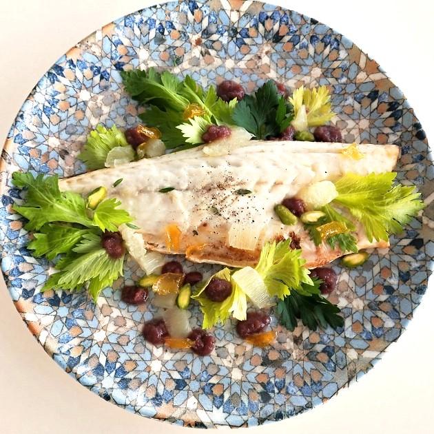 Branzino con pesto di olive e limone candito Alimentari Pasqualetti Shop Online