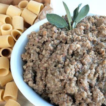 Ragu bianco di cinta senese_sughi e salse_pasta_primi piatti_gastronomia pasqualetti_shop online_pasqualetti_alimentari pasqualetti