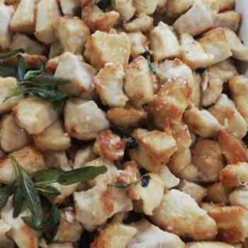 bocconcini di pollo alla salvia Gastronomia Alimentari Pasqualetti