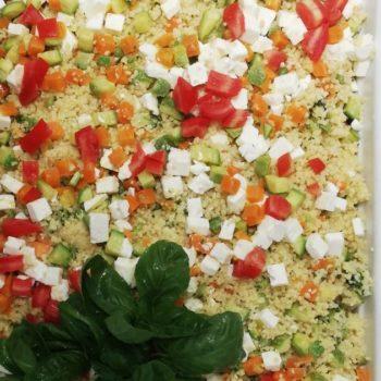 cous cous di verdure e feta Gastronomia Alimentari Pasqualetti