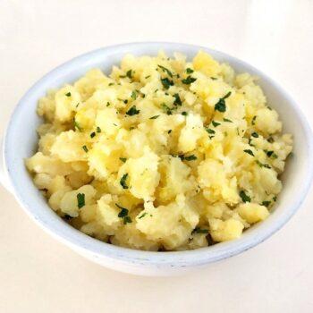 patate schiacciate ricetta delicata gastronomia verdure vegetariano contorni menu Alimentari Pasqualetti asporto takeaway