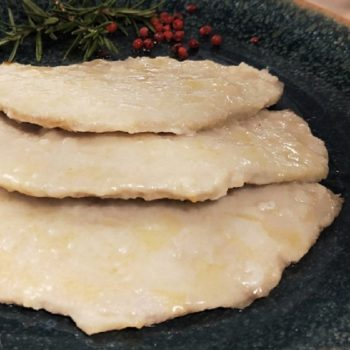 Scaloppina alla vernaccia_secondi di carne_gastronomia pasqualetti_shop online_pasqualetti_alimentari pasqualetti