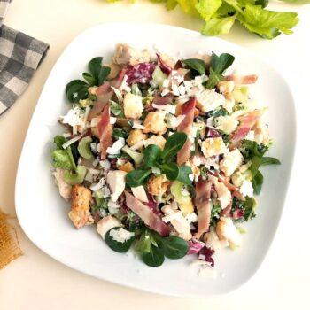 Insalata di pollo e pancetta gastronomia insalate Pasqualetti Alimentari Pasqualetti asporto takeaway
