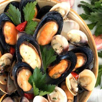 guazzetto cozze e vongole_secondi di mare_gastronomia_pasqualetti_shop online_alimentari pasqualetti