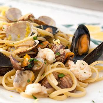 linguine ragu pesce bianco gastronomia alimentari pasqualetti