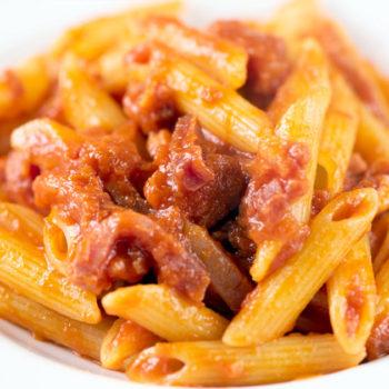penne amatriciana gastronomia alimentari pasqualetti poggibonsi colle di vald'elsa san gimignano