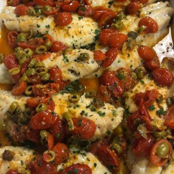 rombo olive e capperi shop online alimentari pasqualetti gastronomia