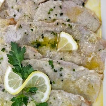 Scaloppine al limone Gastronomia Alimentari Pasqualetti
