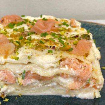 lasagna_salmone pistacchi crescenza_gastronomia_primi piatti_pasqualetti_alimentari pasqualetti_shop online_takeaway