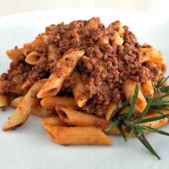 penne al ragu primi piatti gastronomia takeaway asporto Pasqualetti Alimentari Pasqualetti