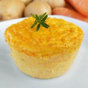 Sformatino di carote e patate menu Natale Alimentari Pasqualetti