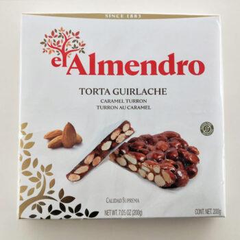 torta guirlache el almendro Torrone al Caramello